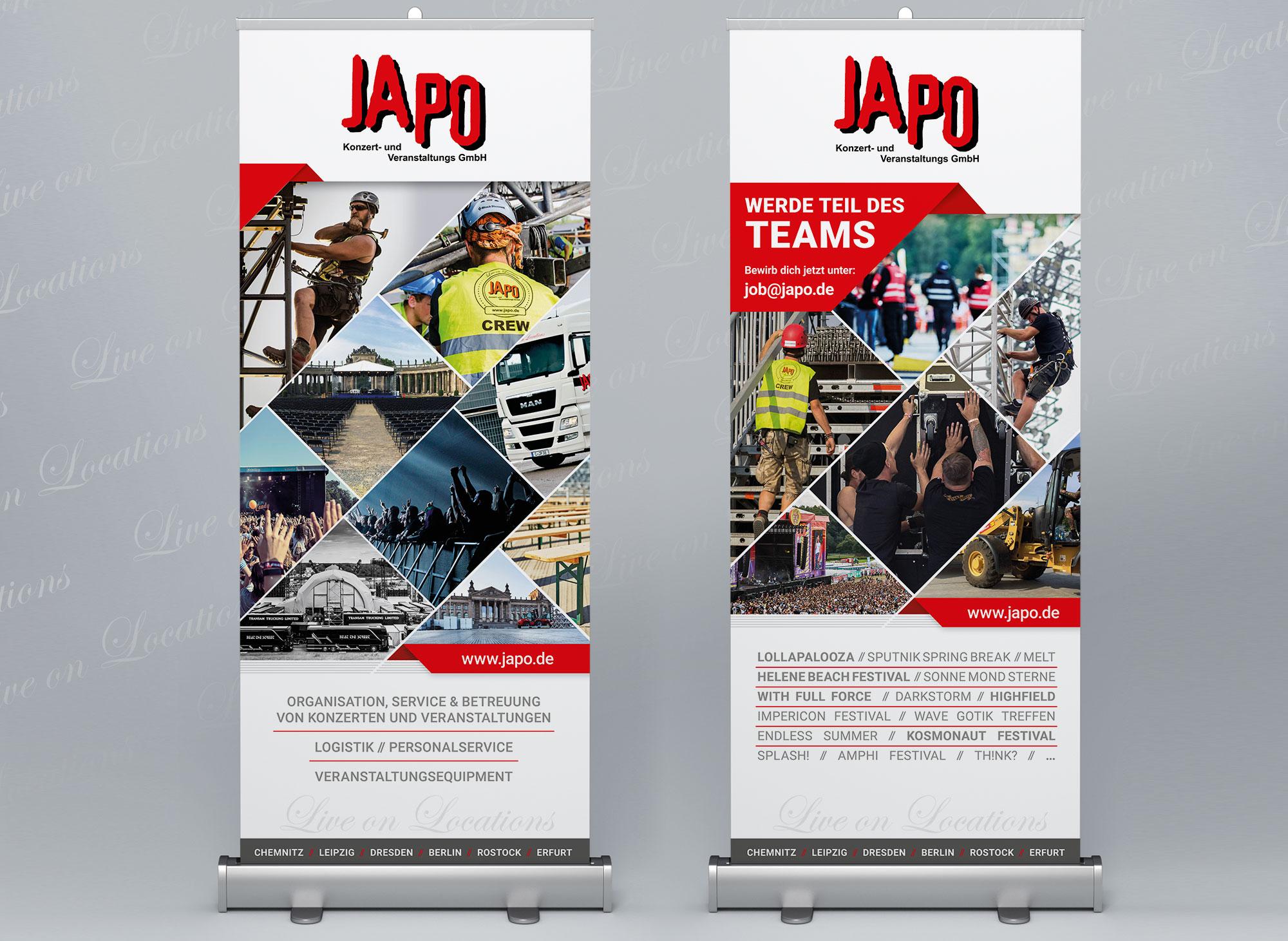 Werbeagentur Portfolio - JAPO