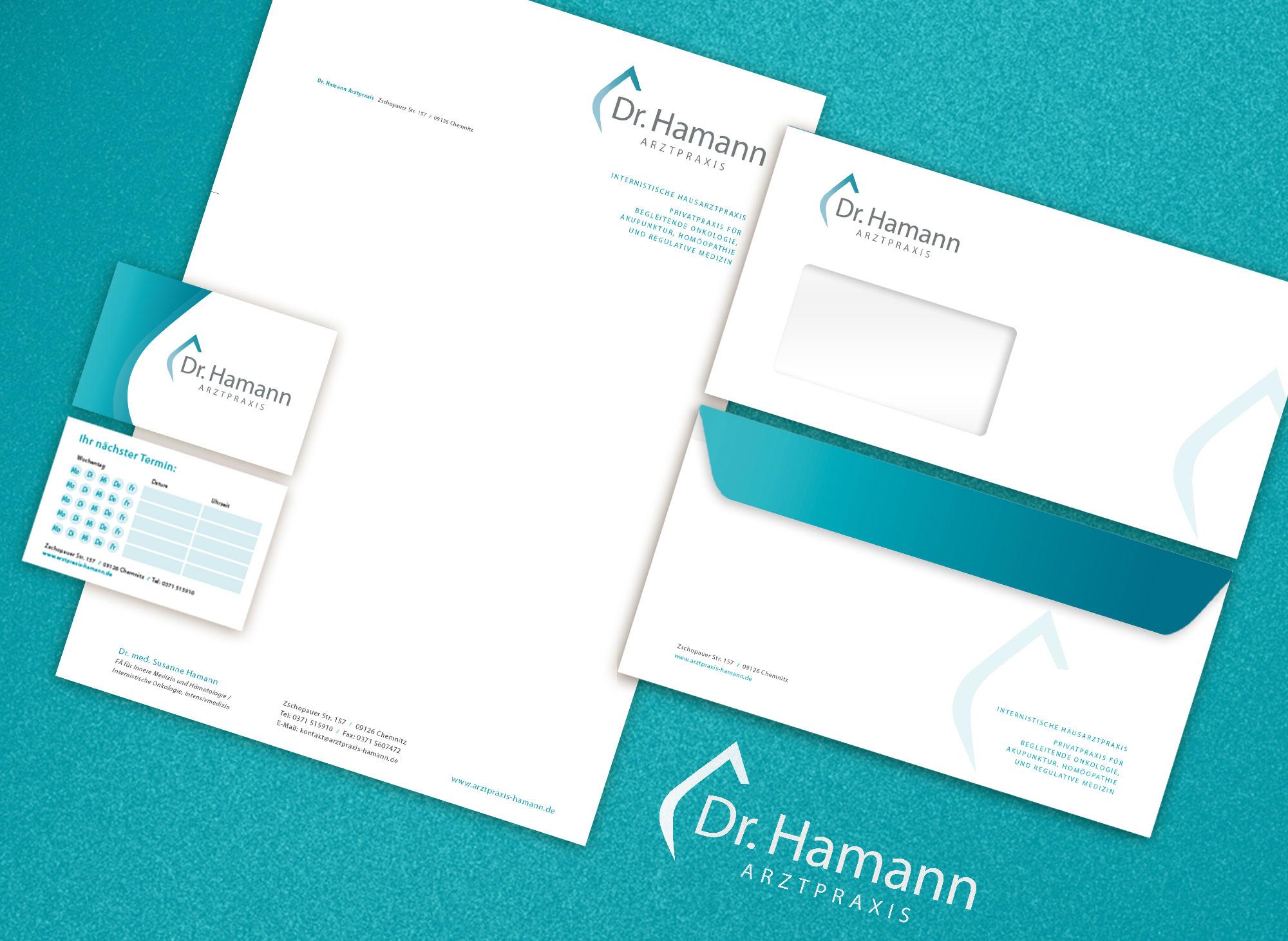 Werbeagentur Portfolio - Dr. Hamann
